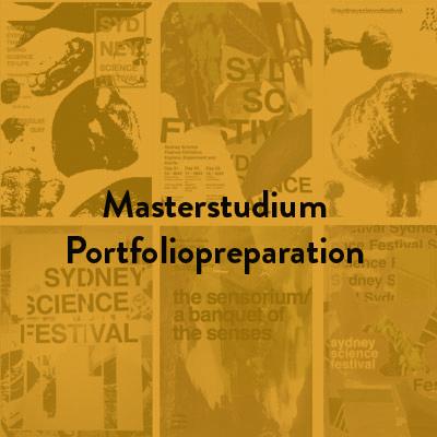 Masterstudium Portfoliopreparation